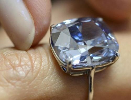 Duurste diamant ooit geveild v oor 45 miljoen Euro